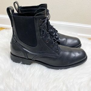 Timberland Earthkeepers Black Leather Boots 11.5